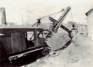 VBR - Construction Steam Shovel 8-1916 Lowesville VA