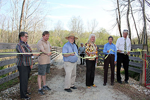 VBR Trail Section Opening 4-3-2012