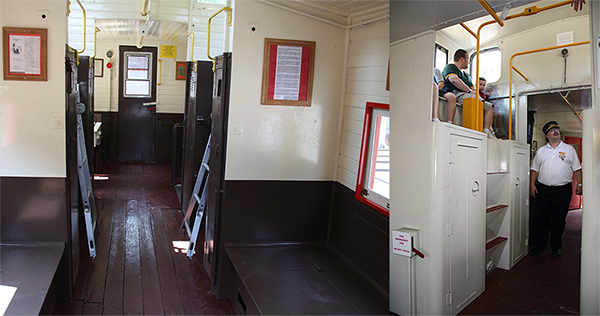 Caboose Seating
