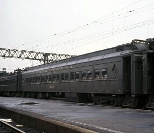 DLW Club Car 2454 3454 Hoboken c-1966