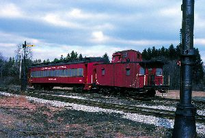 MCC PRR 20 Cabin Car Jan. 1989