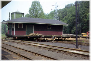 Move Freight House Accross Tracks 1967