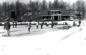 Whippany Station ice skating c-1950s